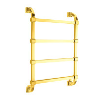 732/732 G HEATED TOWEL RAIL INT 480mm 4M GOLD