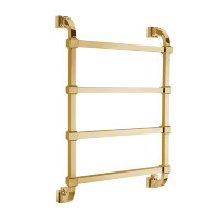 732/732 OC HEATED TOWEL RAIL INT 480mm 4M OLD COPPER
